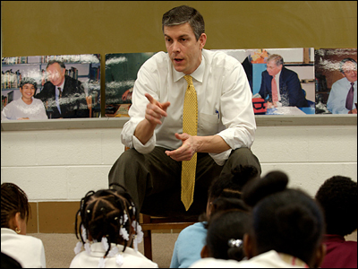 Arne Duncan Blames Nation's Phys Ed Teachers for Student Obesity, Hygiene, and General Unattractiveness