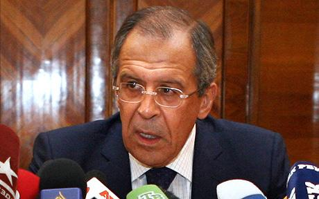 Russian Foreign Minister: It Is Up To The Syrian People To Pretend To Bring Democracy To Syria